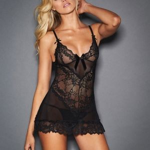 Lara Lace and Bow Chemise 1X/2X NWOT